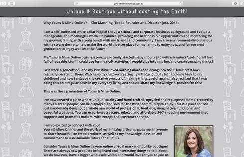 about page bio copywriting