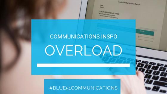 overwhelmed by biz communications