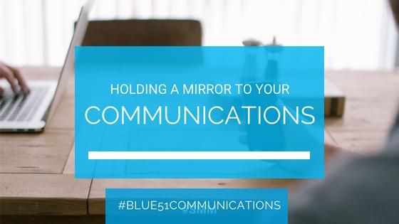 reflecting on communications