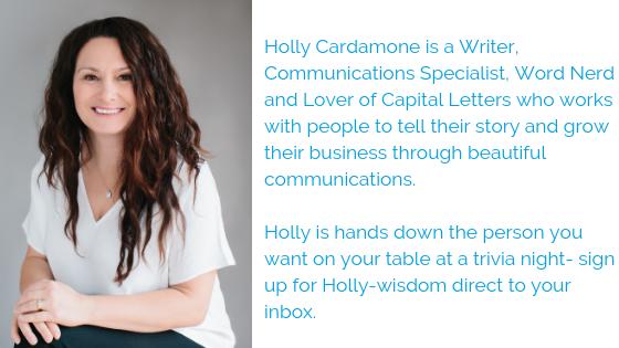 Holly Cardamone bio