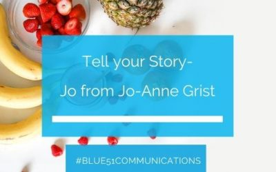 Tell your story – Jo from Jo-Anne Grist, Holistic Business Coach