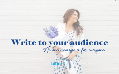 Write to your audience